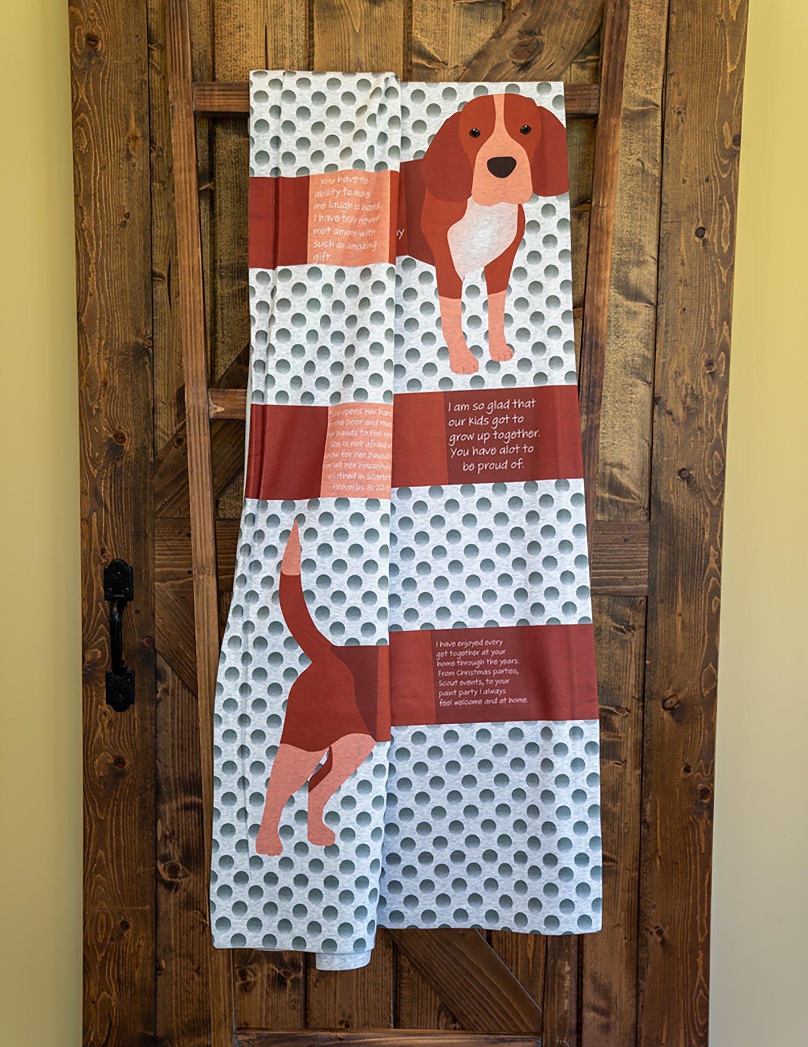 Dog Lover Throw Blanket