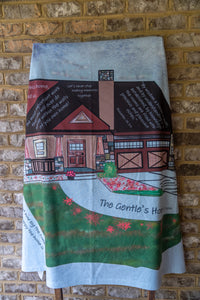 Personalized Home Throw Blanket / All words able to be customized