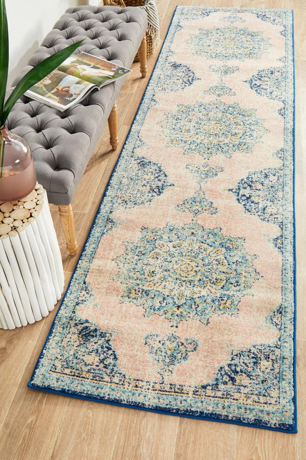 Classic Avenue 706 Flamingo Runner Rug