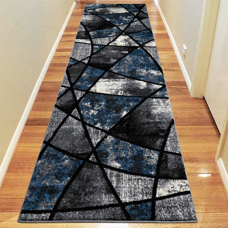 Atlantic 535 Grey Opal  Curve and square Hallway Runner