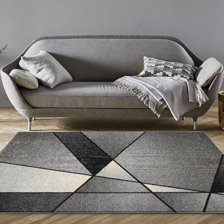 Atlantic 540 Smoke  Modern Rug From $115