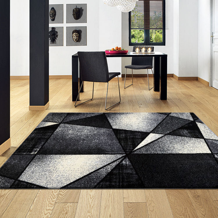 Atlantic 752 Granite  Geometry  Modern Rug From $115