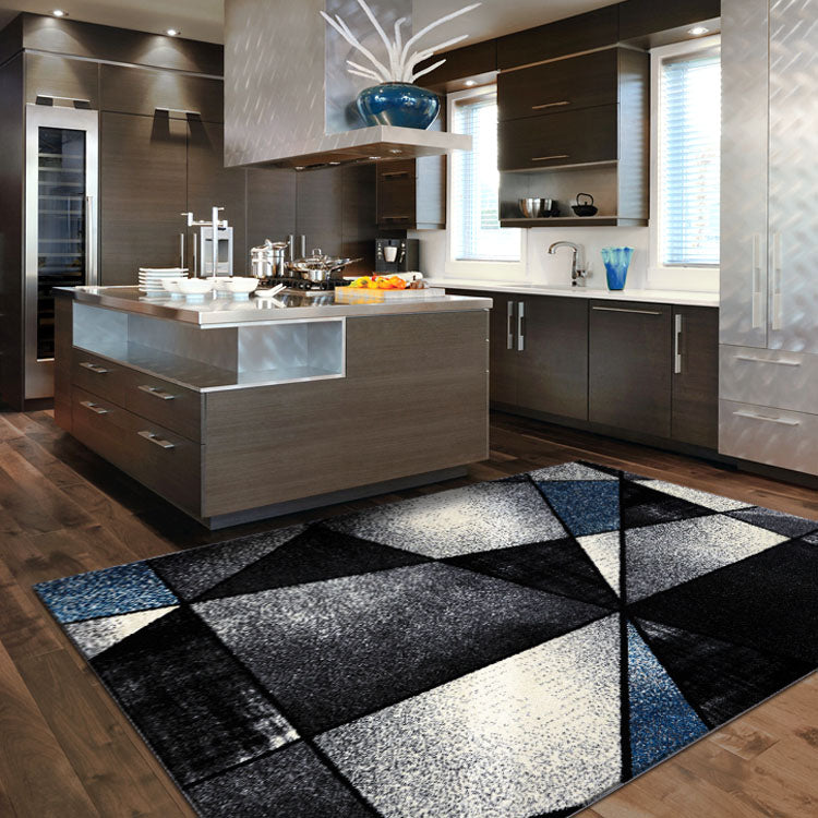 Atlantic 752 Opal Grey  Geometry  Modern Rug From $115