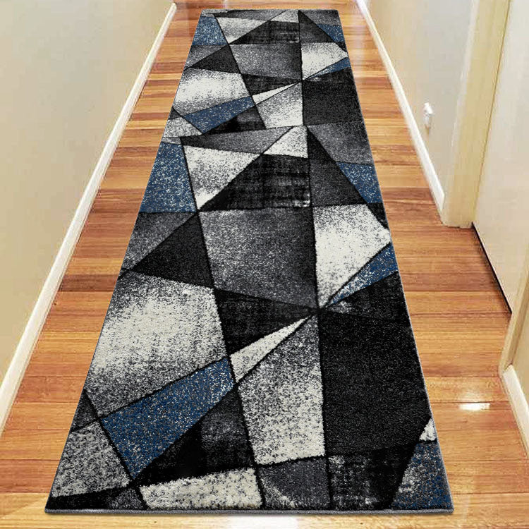 Atlantic 752 Opal Grey  Geometry Hallway Runner