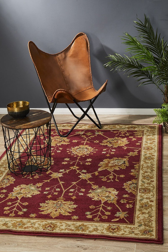 Byblos Oriental Timeless  Design Red Rug