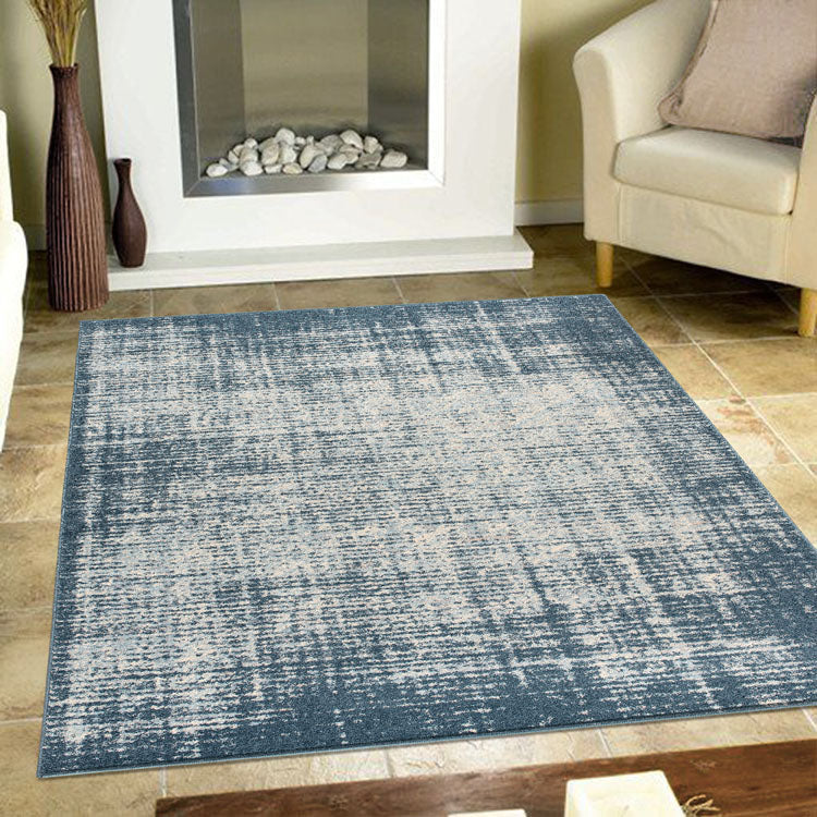 Canyon Faded Blue 34 Rug by Iconic rugs Australia