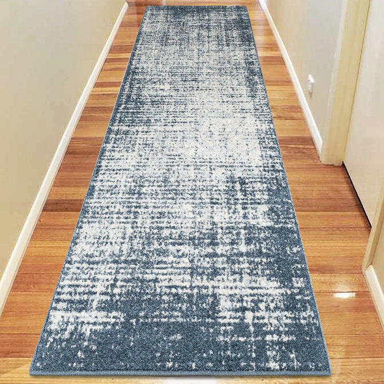 Canyon Faded Blue 34 Hallway Runner by Iconic rugs Australia