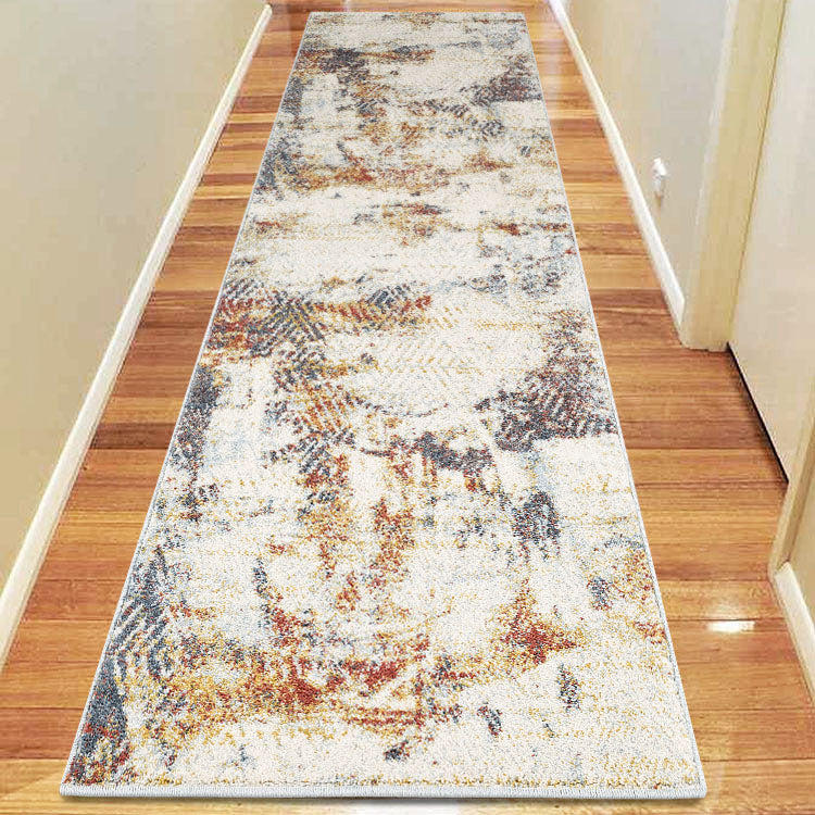 Canyon Sand Abstract  3905 Hallway Runner by Iconic rugs Australia