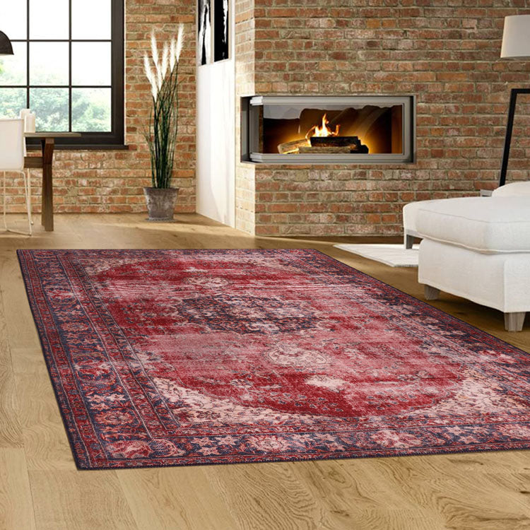Ornate Red  Devon 2017 Persian Style  Rug