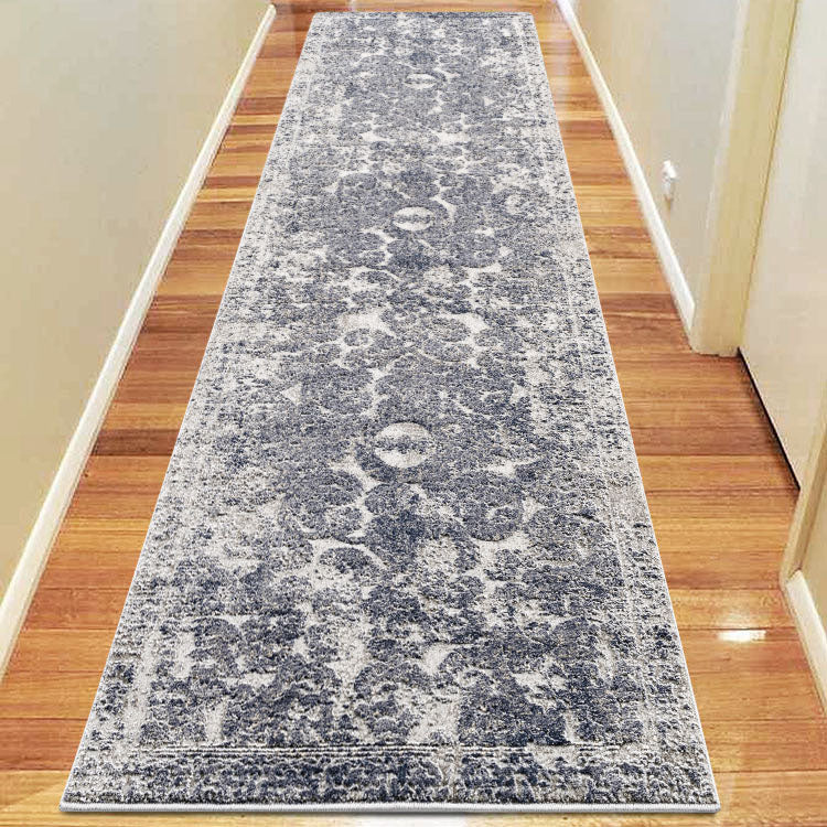 Envy Classic 380 Navy Runner  by Iconic Rugs Australia