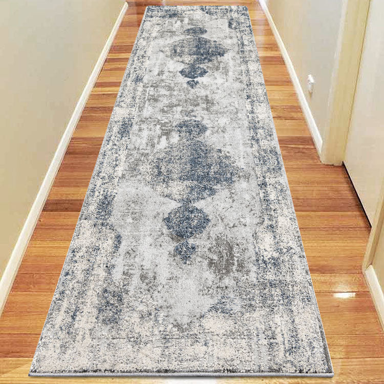 Envy Classic 582 Light Grey Runner  by Iconic Rugs Australia