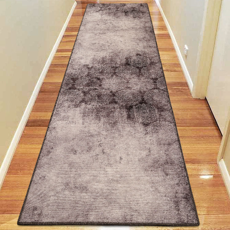 Vintage Diamond Fame 60 Grey Hallway Runner By Iconic Rugs Australia