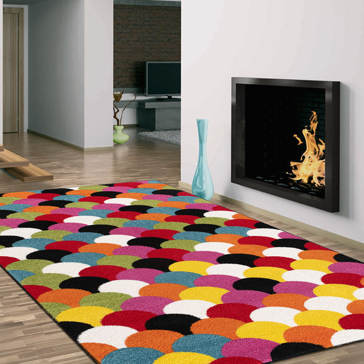 Galaxy183  Multi  Fishes  Beautiful Rug