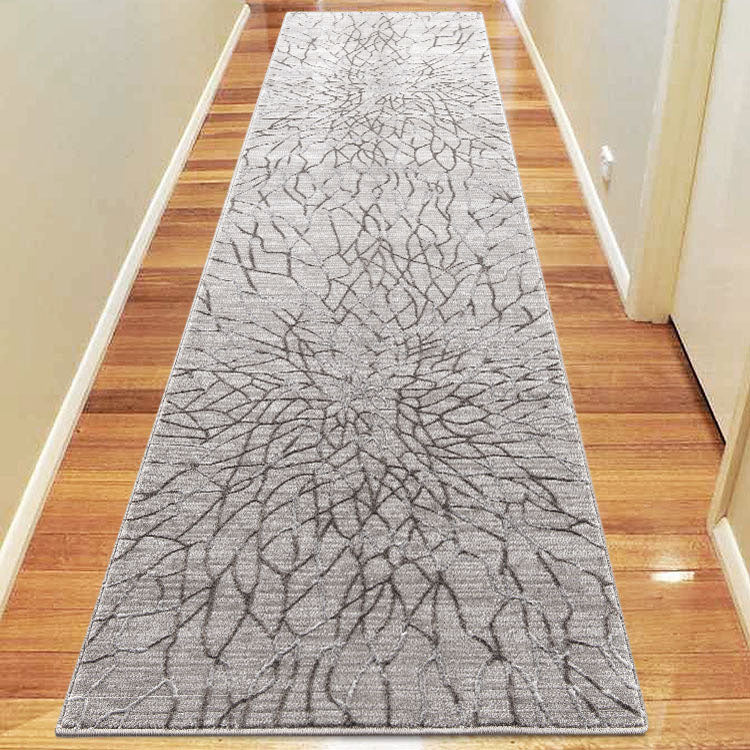 Lotus 2322 Grey Hallway Runner By Iconic Rugs Australia