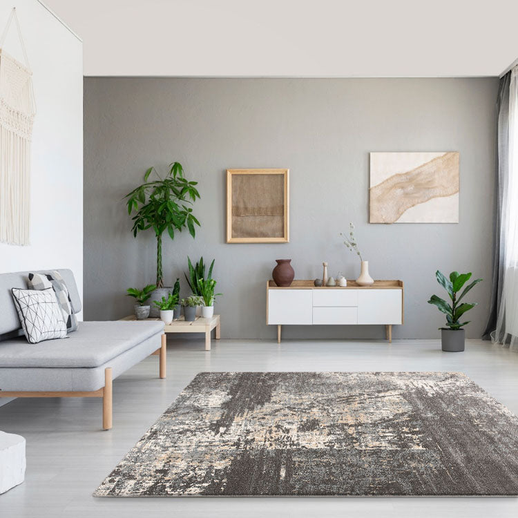 Lotus 2616 Grey Rug By Iconic Rugs Australia