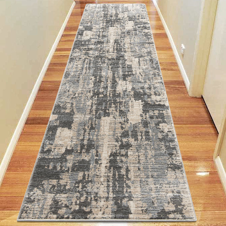 Lotus 2617 Light Grey Hallway Runner By Iconic Rugs Australia