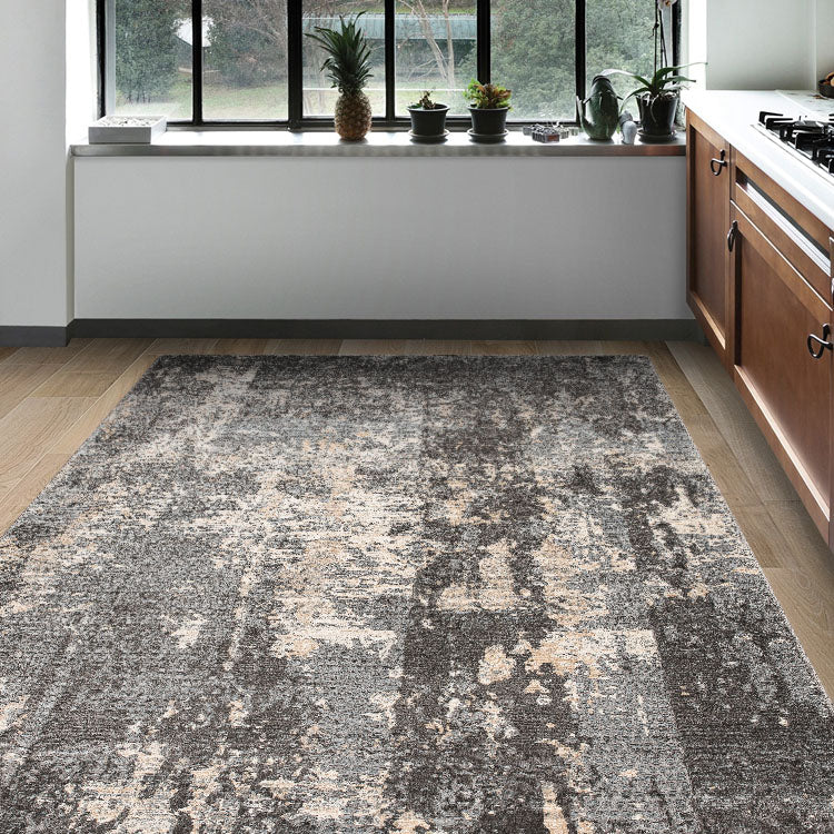 Lotus 2618  Grey Rug By Iconic Rugs Australia