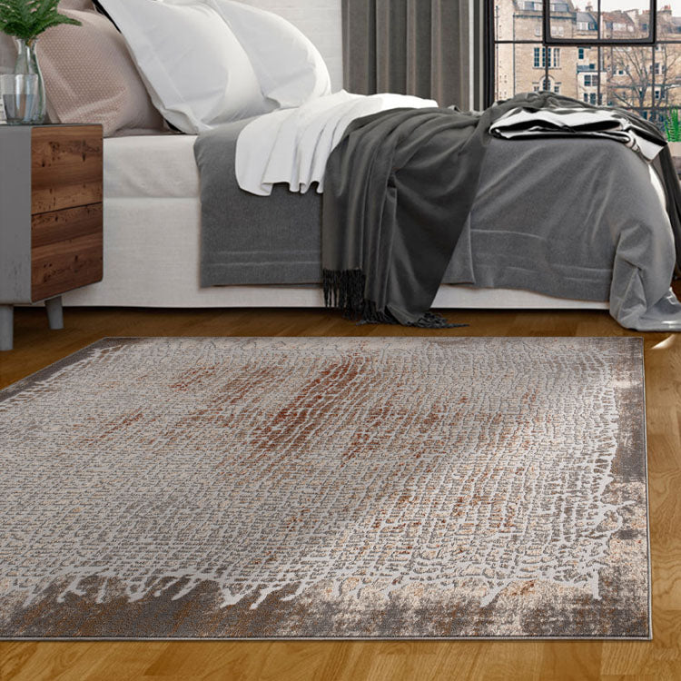Nova 2608 Contemporary  Grey Rug By Iconic Rugs Australia