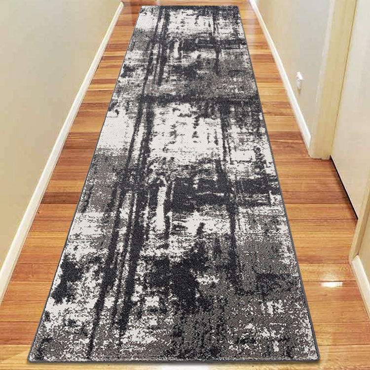 Orrisa 1907 Grey  Contemporary Hallway Runner