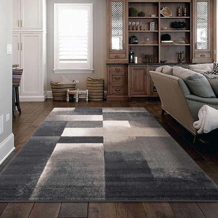 Orrisa 1912 Squares Grey  Contemporary Rug from $102
