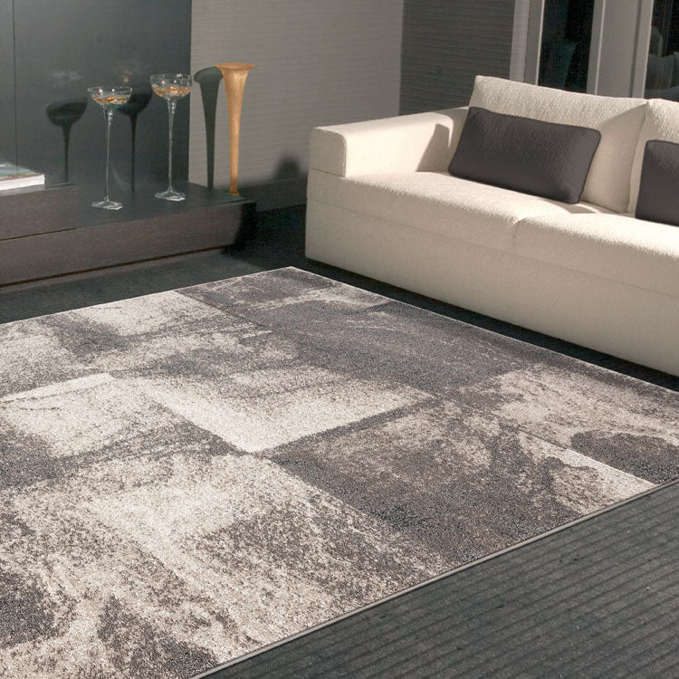Orrisa 2384 Plain Squares  Beige Rug from $102
