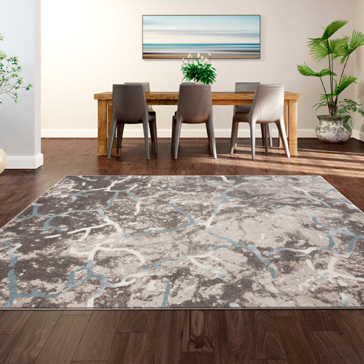 Orrisa 3144 Web Beige Contemporary Rug from $102