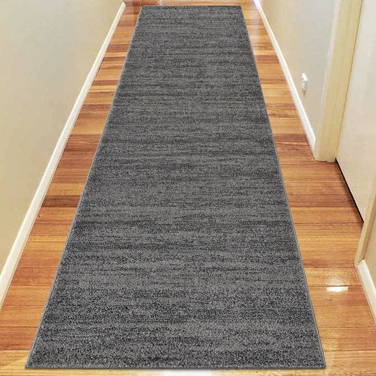 Orrisa 6824 Contemporary Grey Hallway Runner