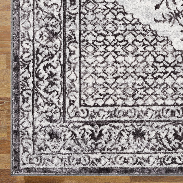 Opera 2799 Oriental Medallion Dark  Grey  Rug From $110