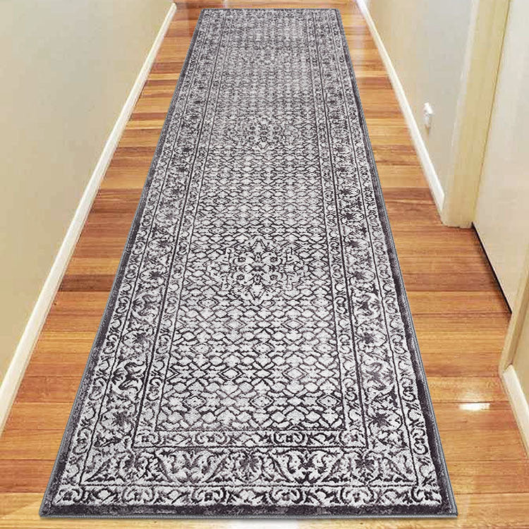 Opera 2799 Oriental Medallion Dark  Grey  Hallway Runner