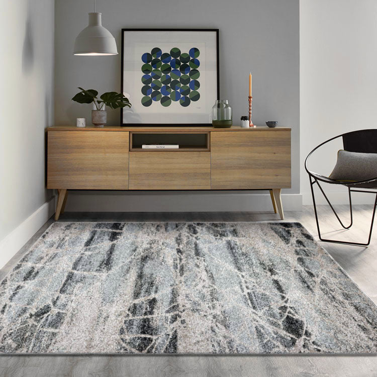 Opulence Web  748 Granite  Modern Rug From $99