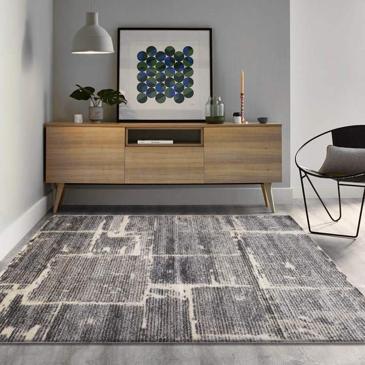 Opulence Opaque  772 Granite   Modern Rug From $99
