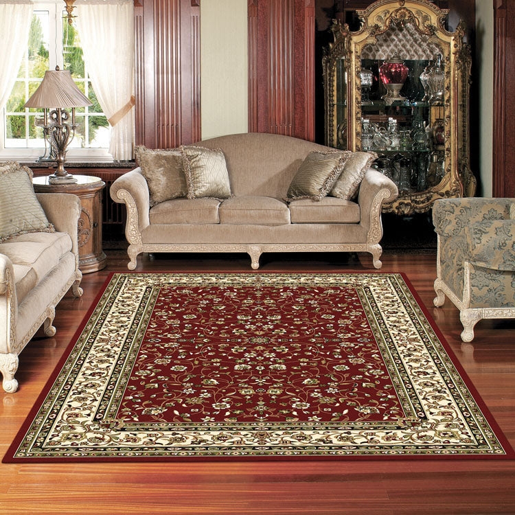 Palace 7146 Red Traditional Persian Style High Quality  Rugs From $99