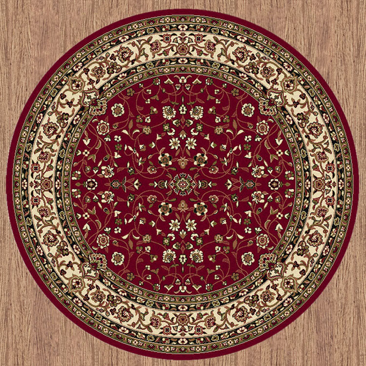 Palace 7146 Red Traditional Persian Style High Quality  Rug