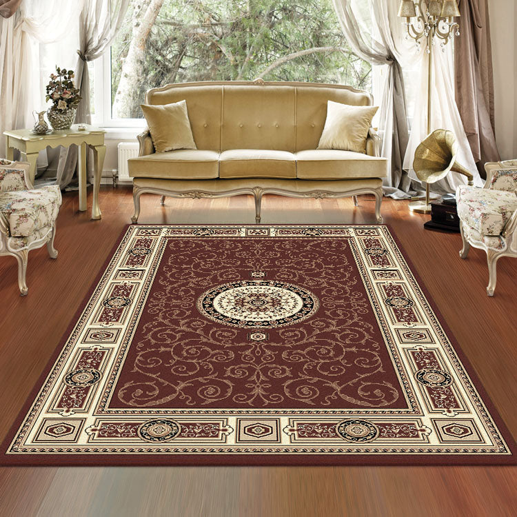 Palace 7647 Brown  Traditional Persian Style High Quality  Rugs From $99