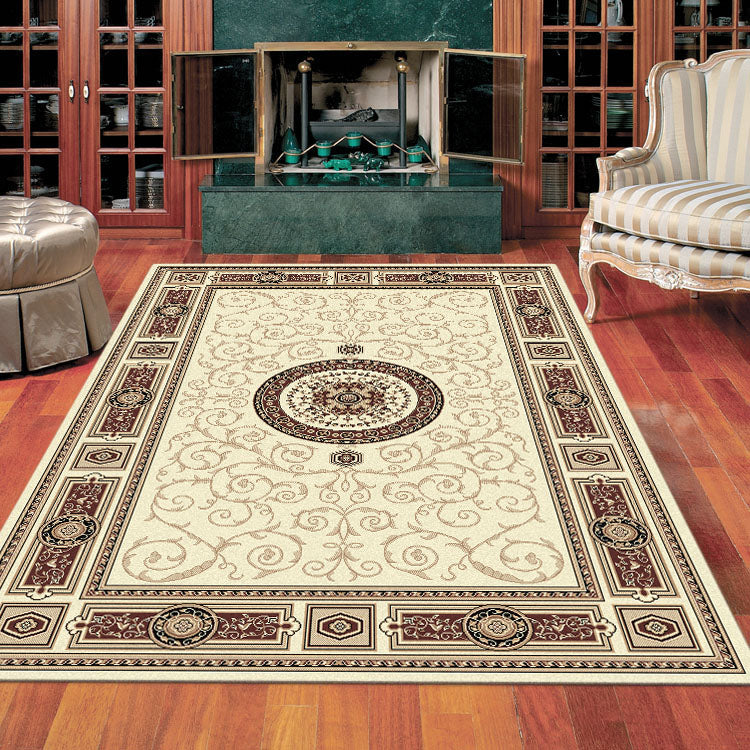 Palace 7647 Cream Cream   Traditional Persian Style High Quality  Rugs From $99