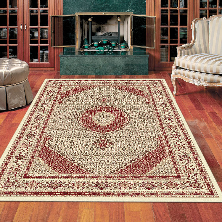 Palace 7650 Royal Cream Traditional Persian Style  Rug From $125