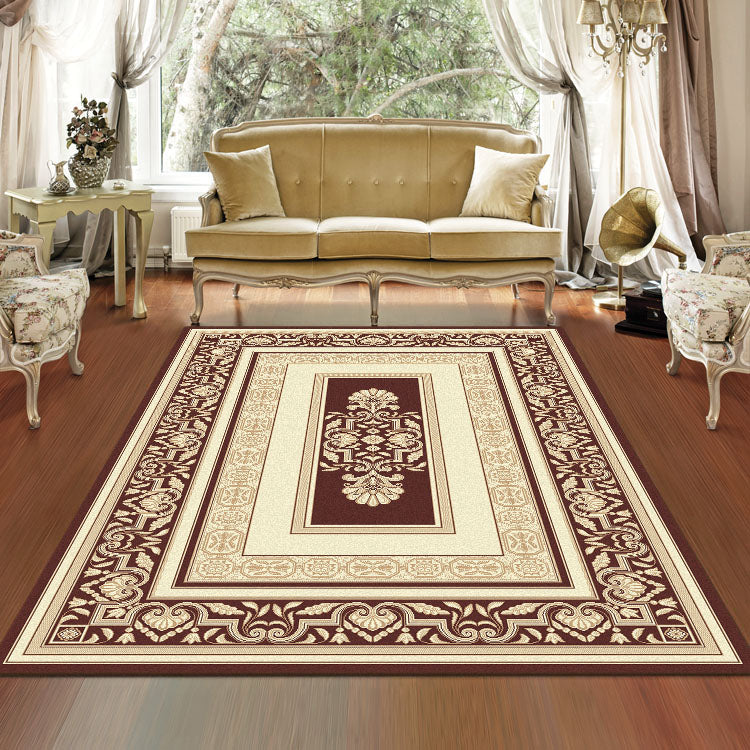 Palace 7652 Brown  Cream  Traditional Persian Style High Quality Rug