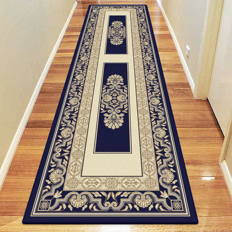 Palace 7652 Blue Cream  Traditional Persian Style Hallway Runner