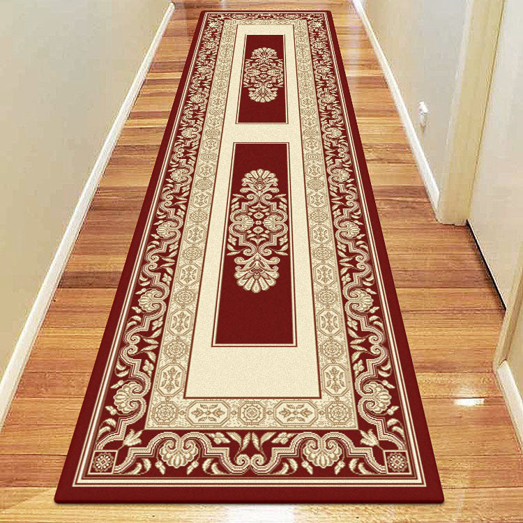 Palace 7652 Red Border  Traditional Persian Style High Quality Hallway Runner