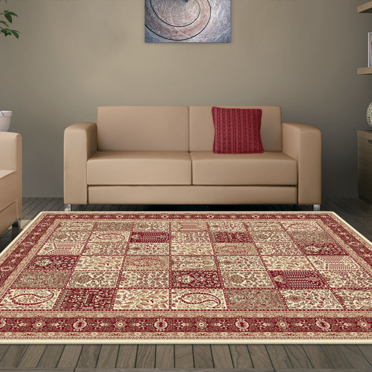 Palace 7654  Tribal Cream  Persian Style High Quality Rug