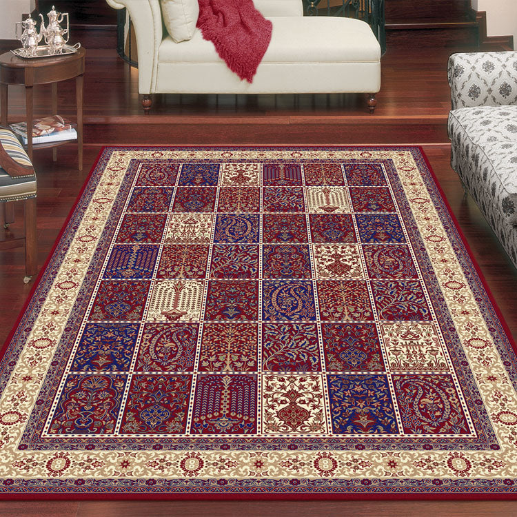 Palace 7654  Tribal Red  Persian Style High Quality Rug