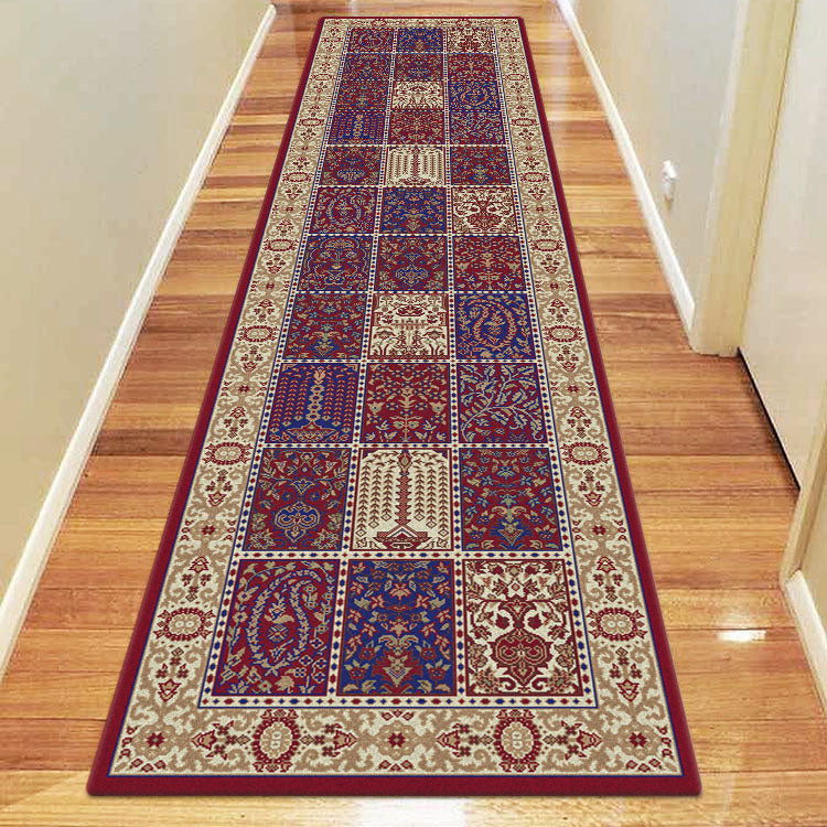 Palace 7654  Tribal Red  Persian Style Hallway Runner