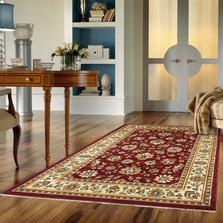 Persian 1259 Oriental Red  Rug From $129