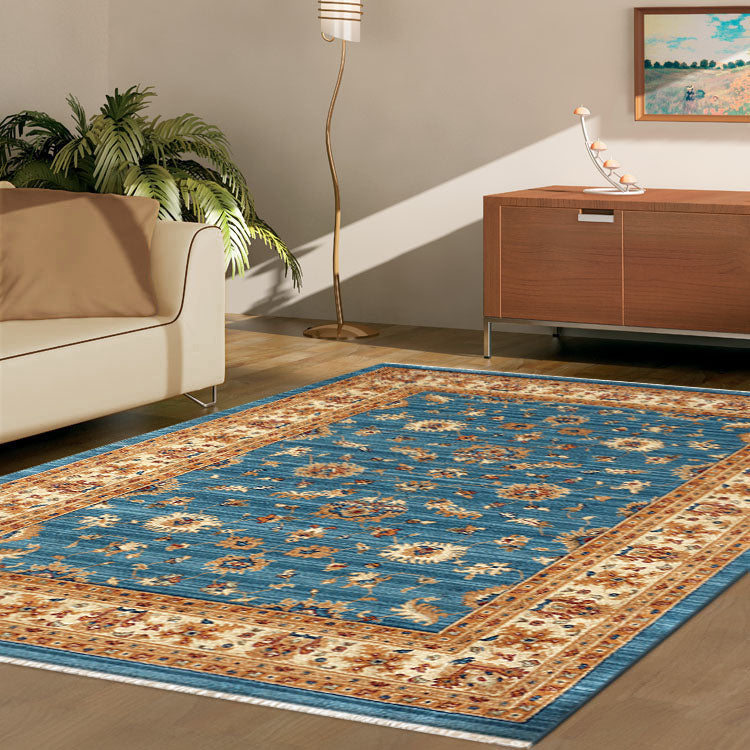 Persian 1271 Olden Blue Framed Rug From $129