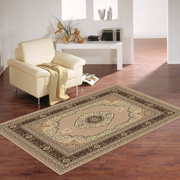 Ruby 6332 Persian Medallion Design  Cheap Rug from $79