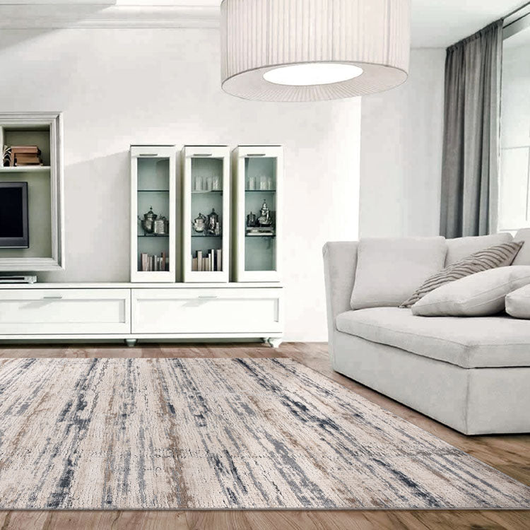 Sieena Rug collection 430 Light Grey by Iconic Rugs Australia