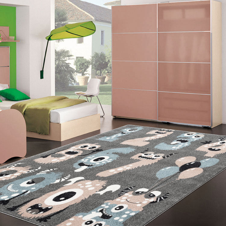SmartKids 123.. Grey    Rug By Iconic Rugs Australia