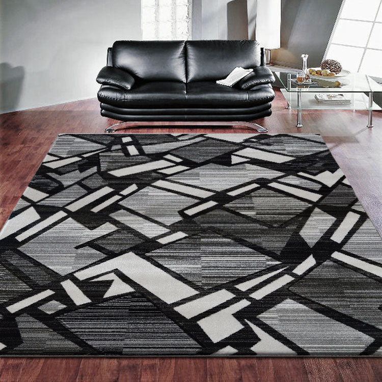 Sungate 1059 Grey Geo  Rug By Iconic Rugs Australia