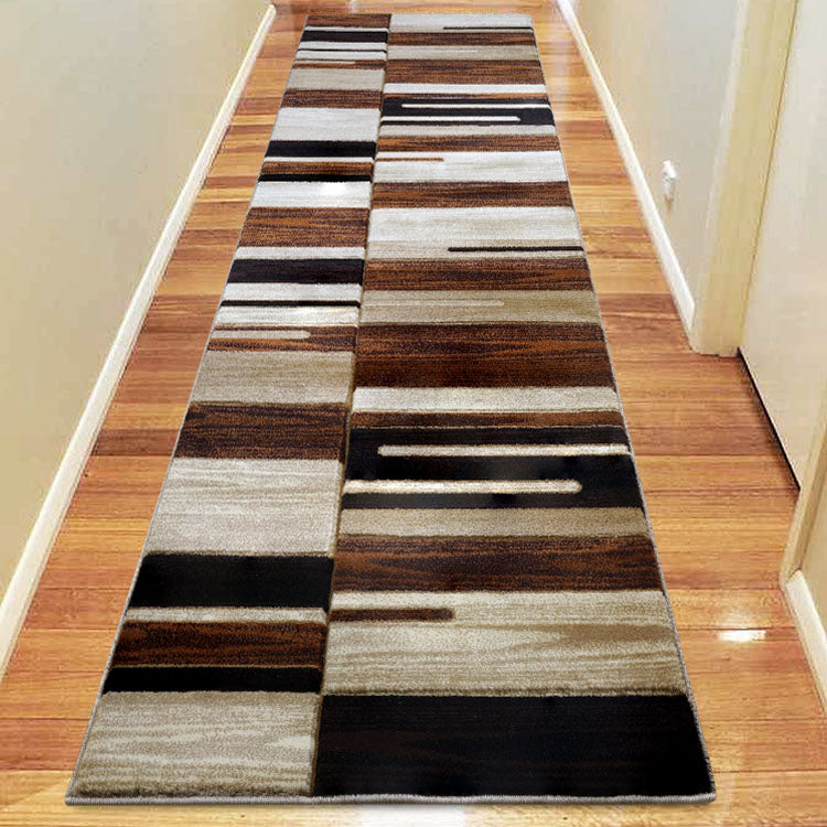 Sungate 2089 Beige/Gold/Grey Hallway Runner by Iconic Rugs Australia
