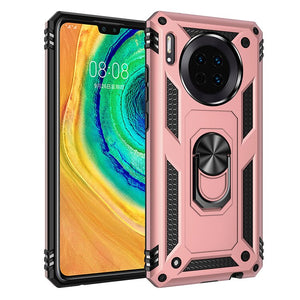 Luxury Shockproof Armor Magentic Ring Case For Huawei P30 Pro P20 Lite P30 Silicone Cover P Smart 2019 Mate 30 20X Phone Cases